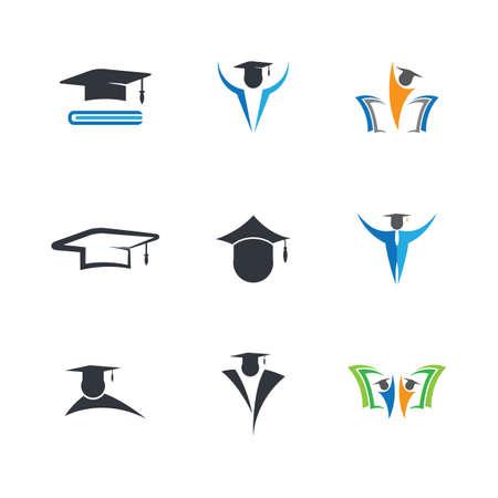 Education symbol vector icon illustration Vectores