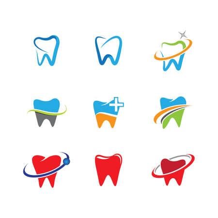 Dental vector icon illustration design