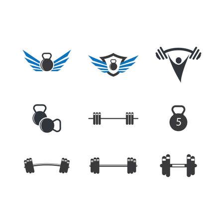 Fitness symbol illustration design Vector Illustration