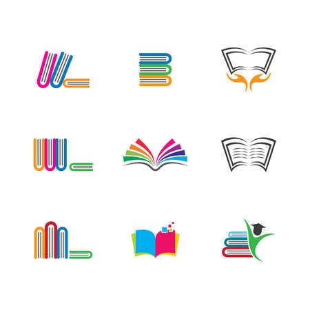 Book symbol icon illustration design
