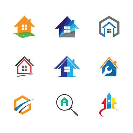 House symbol illustration design