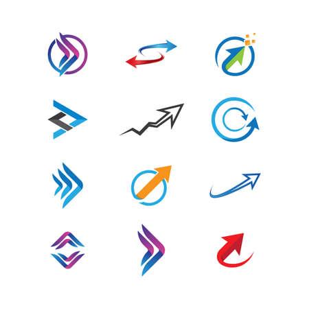 Arrow symbol vector icon illustration