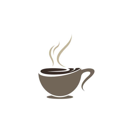 Coffee cup symbol vector icon illustration design Banco de Imagens - 150512211