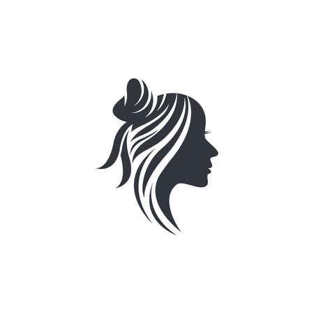Hair salon vector icon illustration