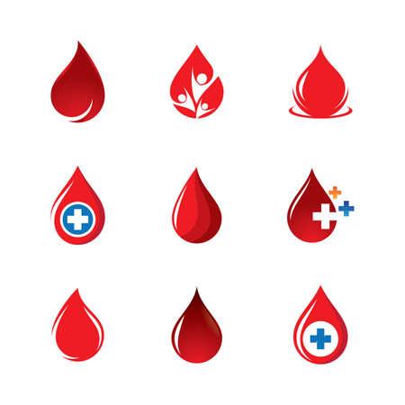 Blood vector icon illustration design Illusztráció