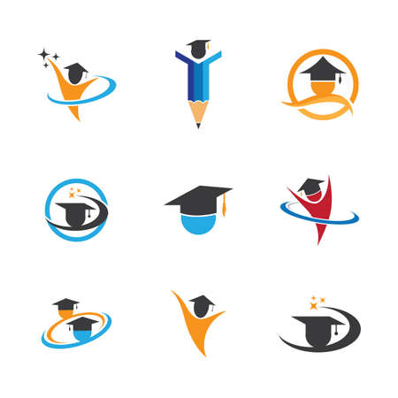 Education symbol vector icon illustration Vettoriali