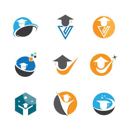 Education symbol vector icon illustration Illustration
