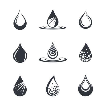 Oil drop icon vector illustration design Illustration