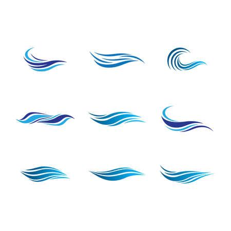 Wave symbol vector icon illustration design Illustration