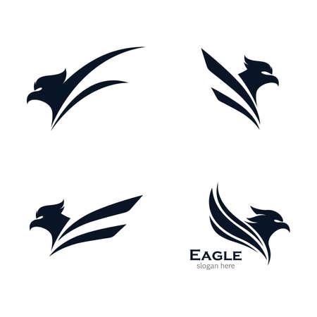 Eagle vector icon illustration design
