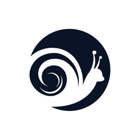Snail vector icon illustration design