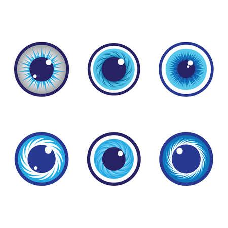 Eye symbol vector icon illustration design Ilustración de vector