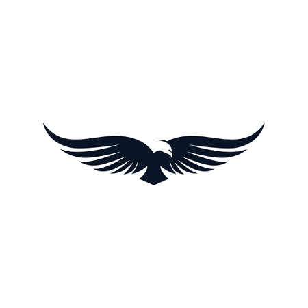 Eagle vector icon illustration design Vector Illustratie