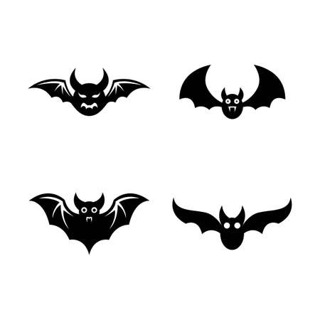 Bat vector icon illustration design