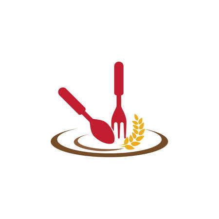 Restaurant logo vector icon design