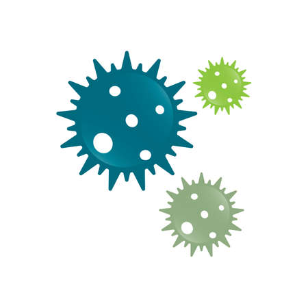 Coronavirus symbol  vector icon design