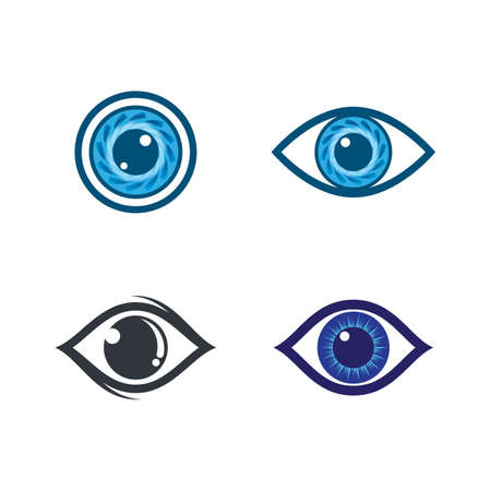 Eye symbol vector icon illustration design Banco de Imagens - 154634711