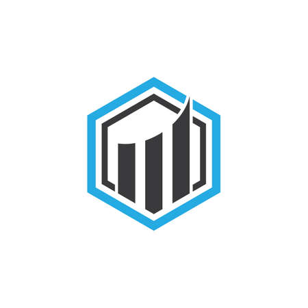 Real estate symbol vector icon illustratrion 스톡 콘텐츠 - 154634712
