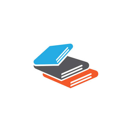 Book vector symbol icon illustration design