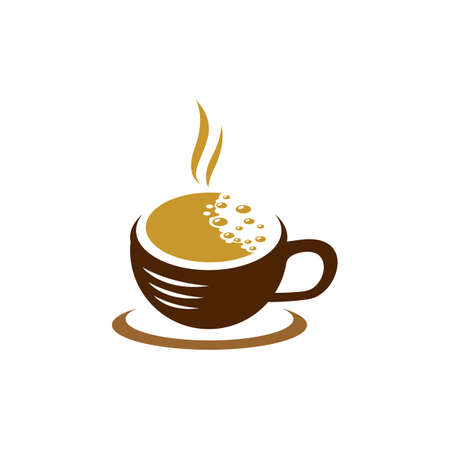 Coffee cup symbol vector icon illustration design