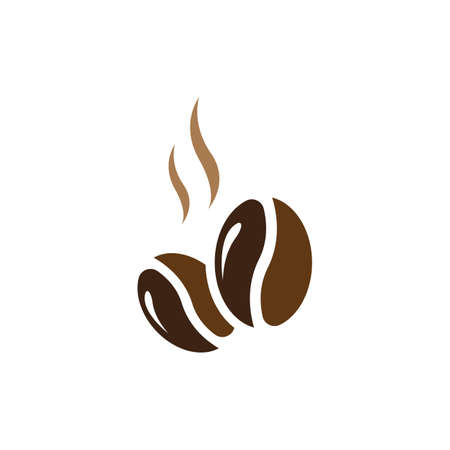Coffee symbol vector icon illustration design Illusztráció