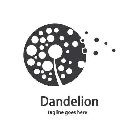Dandelion symbol vector icon illustration design 일러스트