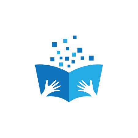 Book symbol vector icon illustration design
