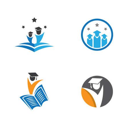 Smart education symbol vector icon illustration Ilustração