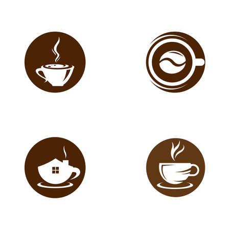 Coffee cup vector icon illustration design 일러스트