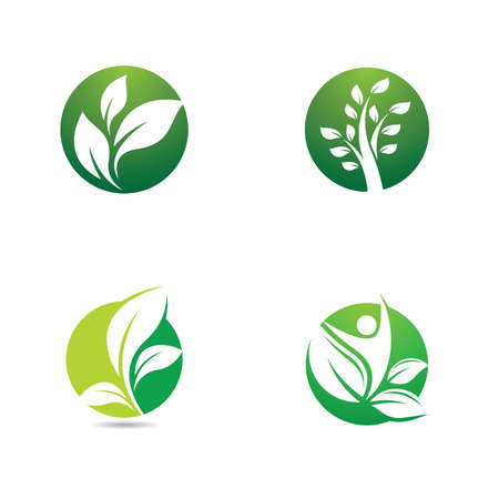 Ecology vector icon illustration design