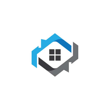 House symbol vector illustration design