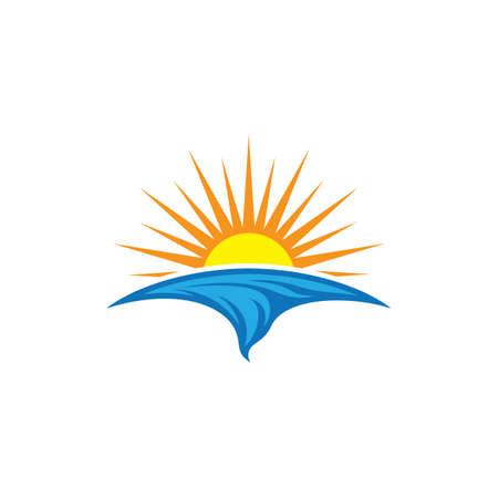 Summer symbol vector icon illustration