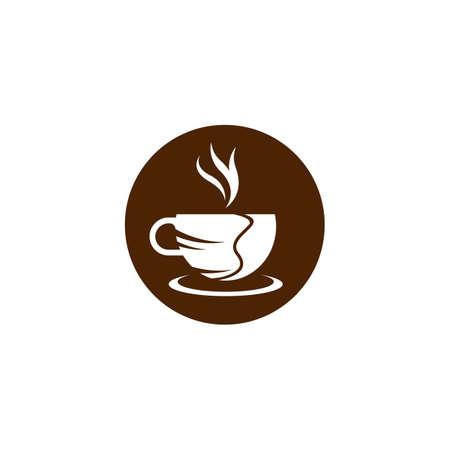 Coffee cup vector icon illustration design Ilustração