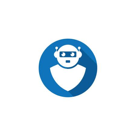 Robot symbol vector icon illustration design 版權商用圖片 - 158451684