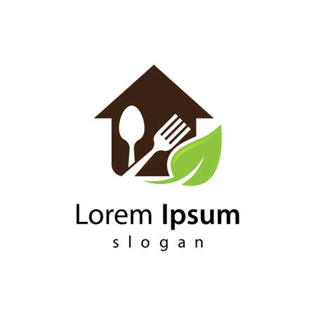 Restaurant logo vector illustration design 向量圖像