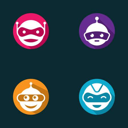 Robot symbol vector icon illustration design 版權商用圖片 - 158451725