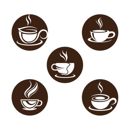 Coffee cup vector icon illustration design 向量圖像