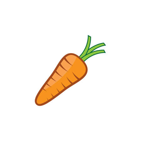 Carrot symbol vector illustration design 版權商用圖片 - 158584960