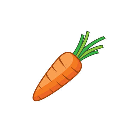 Carrot symbol vector illustration design 版權商用圖片 - 158453718