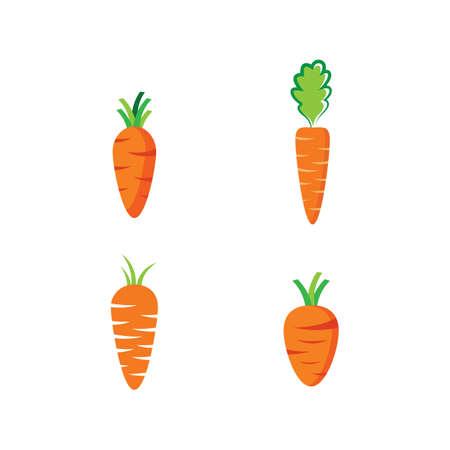 Carrot symbol vector illustration design