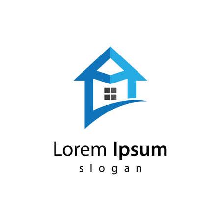 House logo images illustration design