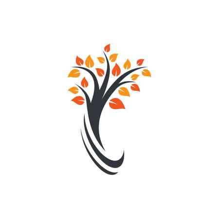 Tree logo images illustration design