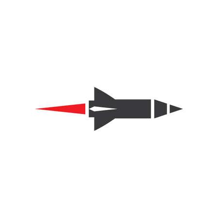 Missile logo images illustration design