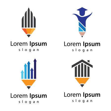 Pencil  images illustration design