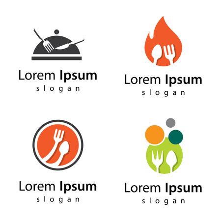 Restaurant images illustration design