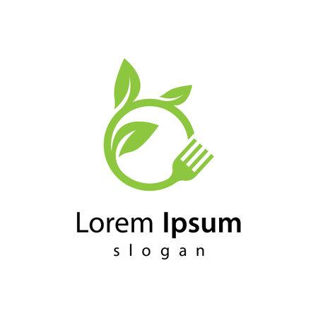 Vegetarian food images illustration design 向量圖像