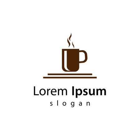 Coffee cup logo images illustration design