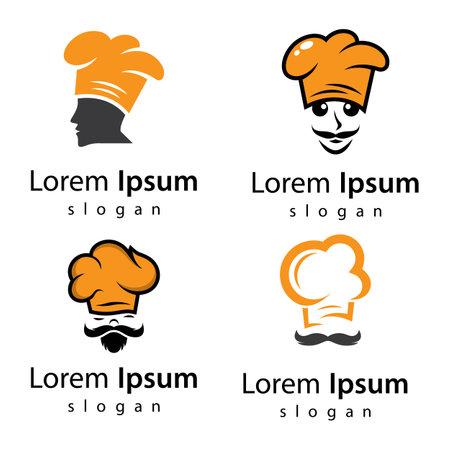 Chef logo images illustration design 向量圖像