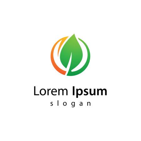 Ecology logo images illustration design