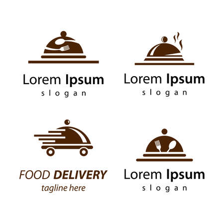 Restaurant logo images illustration design